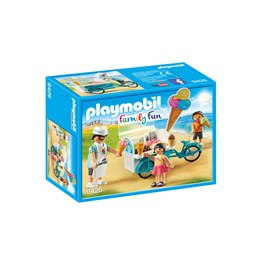 Playmobil, Family Fun - Sykkel med isvagn