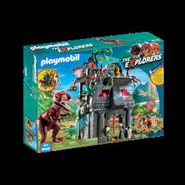 Playmobil, Explorers - Basecamp med T-Rex