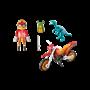 Playmobil, Explorers - Motocross-sykkel med raptor