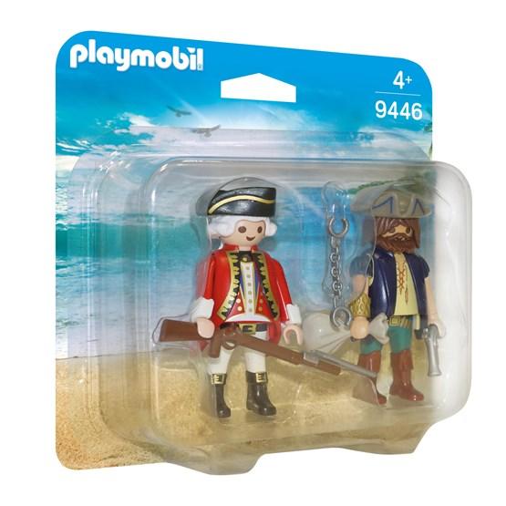 Playmobil, Pirates - Pirat og soldat - duopack