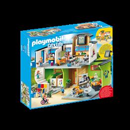 Playmobil, City Life - Innredet skolebygning