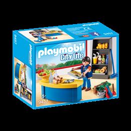 Playmobil, City Life - Vaktmester med bås