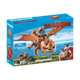Playmobil, Dragons - Fiskebein og Tøffe