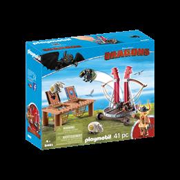 Playmobil, Dragons - Gugge med sauesele