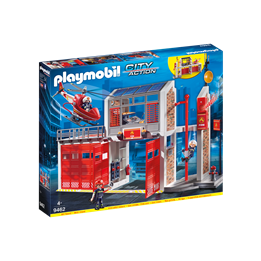 Playmobil, City Action - Stor brannstasjon
