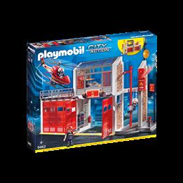 Playmobil, City Action - Stor brannstasjon