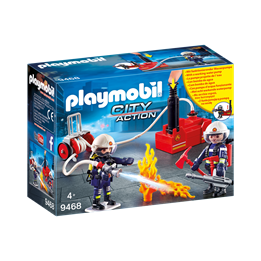 Playmobil, City Action - Brannmenn med vannpumpe