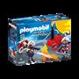 Playmobil, City Action - Brannmenn med vannpumpe