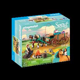 Playmobil, Spirit - Luckys pappa og vogn