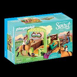 """Playmobil, Spirit - Hestboboks """"Lucky og Spirit"""""""