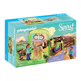 "Playmobil, Spirit - Hesteboks ""Pru og Chica Linda"""