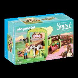"""Playmobil, Spirit - Hesteboks """"Abigail och Boomerang"""""""