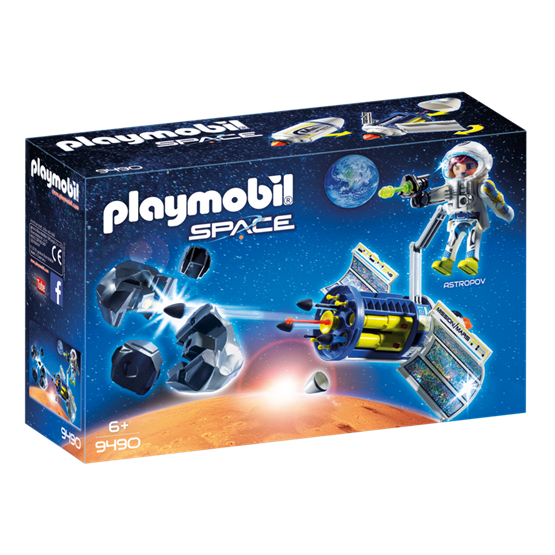 Playmobil, Space - Satellitmeteorittlaser