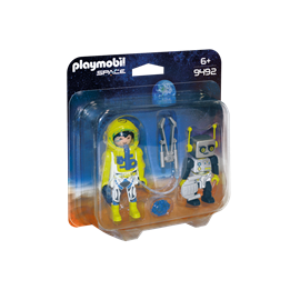 Playmobil, Space - Dobbelpakke med astronaut og robot