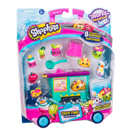 Shopkins, S8 Amerika Theme pack Asst.