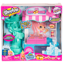 Shopkins, S8 America Playset
