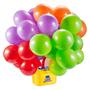 Bounce Ballons Party Pumpe med ballonger