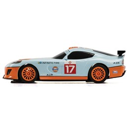 Scalextric GT Lightning, White Gulf 1:32