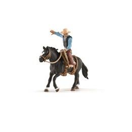 Schleich, Sadlet hest med cowboy