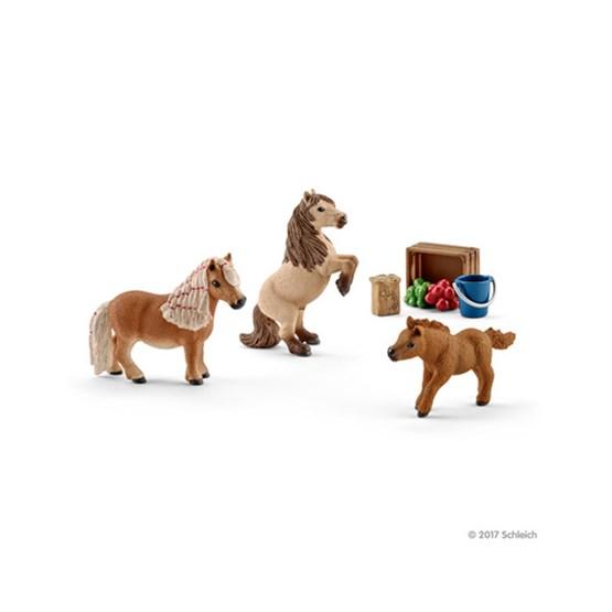 Schleich, Mini-shetlandsfamilie