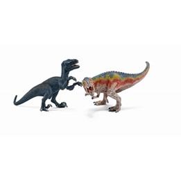 Schleich, T-Rex og Velocioraptor