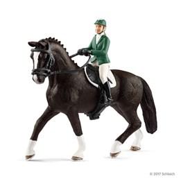 Schleich, Hopprytter med hest