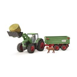 Schleich, Traktor med tilhenger