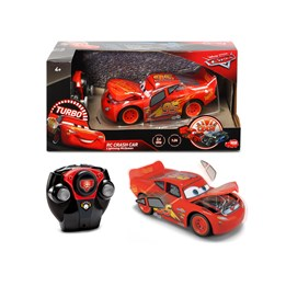 Disney Cars, R/C Cars 3 - Lynet Crazy Crash