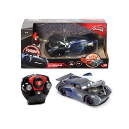 Disney Cars, R/C Cars 3 - Jackson Storm Crazy Crash
