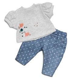 Lillan, Jeans & T-shirt