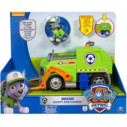 Paw Patrol, Feature Vehicle Rocky