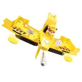 Paw Patrol, Flip & Fly kjøretøy med figur Rubble
