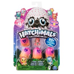 Hatchimals, S4 Colleggtibles 4-pack + bonus