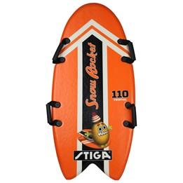 STIGA, Snow rocket twintail, 110 cm, oransje