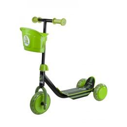STIGA, Sparkesykkel med tre hjul, svart/grønn