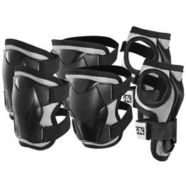 STIGA, Beskyttelsessett Komfort 3-p svart jr l