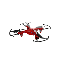 Syma, Quadcopter Drone X13 2.4GHz - Rød