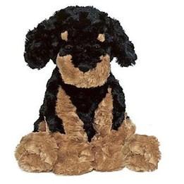Teddykompaniet, Hund sort/brun 40 cm
