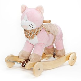 Teddykompaniet, Diinglisar, Gyngehest med lyd, katt