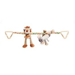 Teddykompaniet, Diinglisar Wild, vognheng, Lion & Elephant