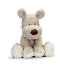 Teddykompaniet, Teddy cream hund, grå, 21cm
