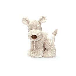 Teddykompaniet, Teddy cream Hund, Grå 26 cm