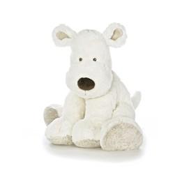 Teddykompaniet, Hund, XL, hvit, 55cm