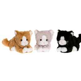 Teddykompaniet, Katt, Brun 14 cm