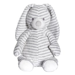 Teddykompaniet, Cotton Cuties - Kanin Kosedyr Grå 27 cm