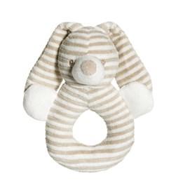 Teddykompaniet, Cotton Cuties - Kanin Rangle Beige 16 cm