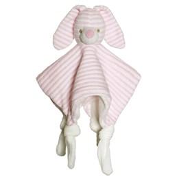 Teddykompaniet, Cotton Cuties - Kanin Koseklut Rosa 25 cm