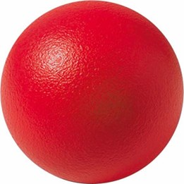 Cog ball Skumball 15 cm Rød