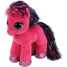 TY, Beanie Boos - Ruby Ponny 15 cm