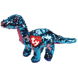 TY, Flippables - Tremor Dinosaur 15 cm